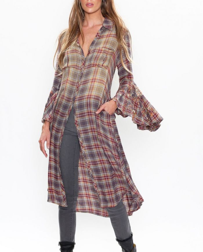 Bohemian Harvest shirt dress