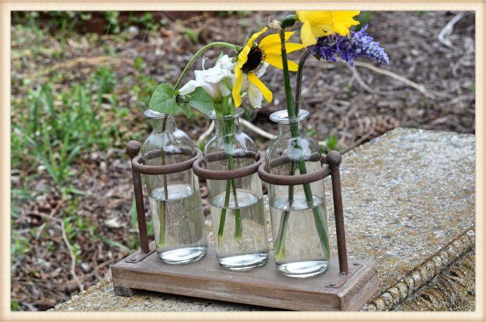 iron ring bottle trio