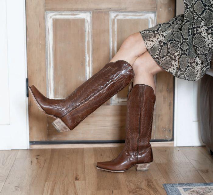 valeria leather boot