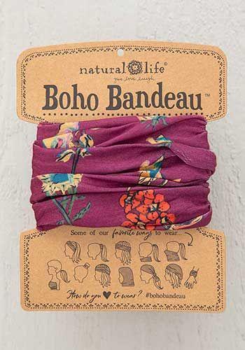 boho bandeau - berry stems