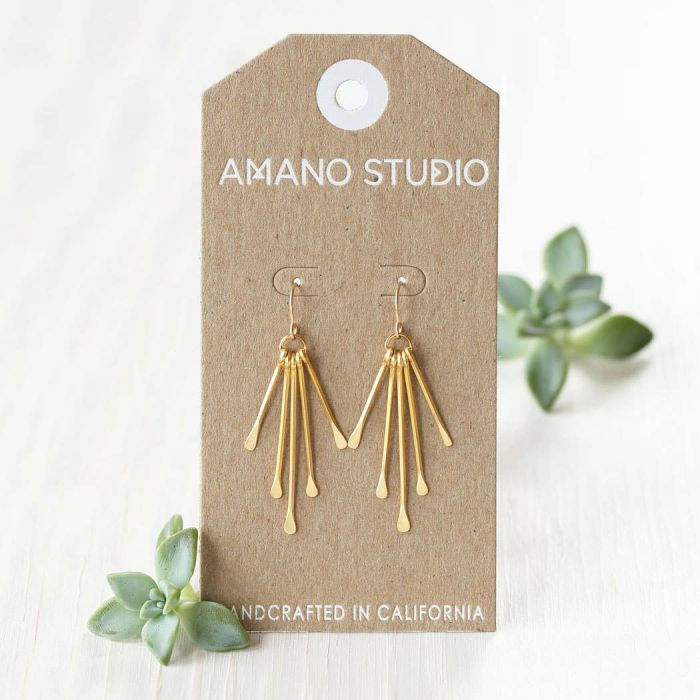 Rain Goddess Earring - Small