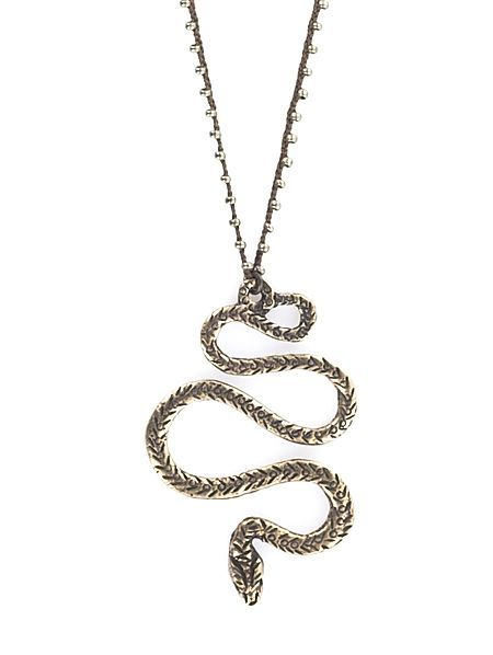 the serpent necklace