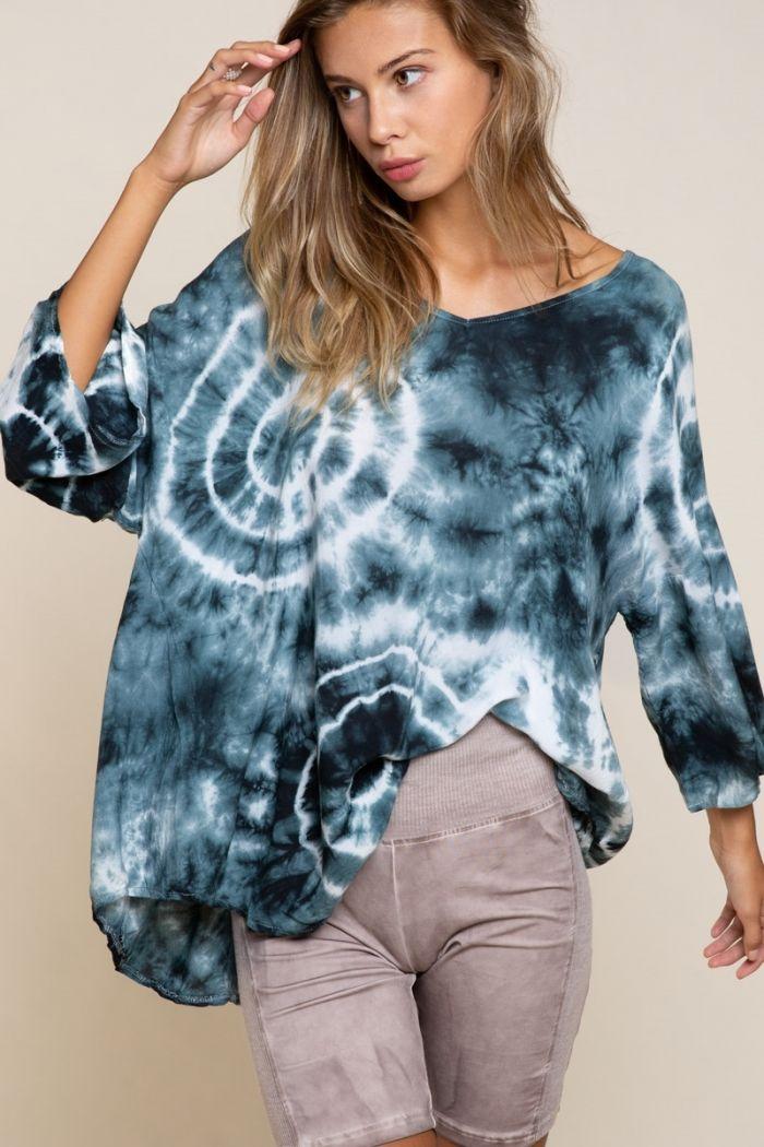 ferren tie dye blouse