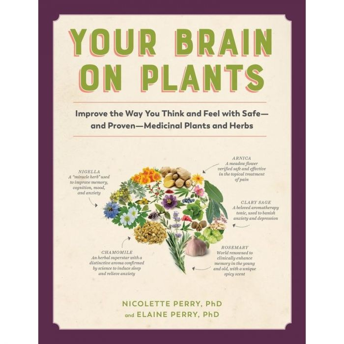 Your Brain on Plants: Improve the Way You Think and Feel