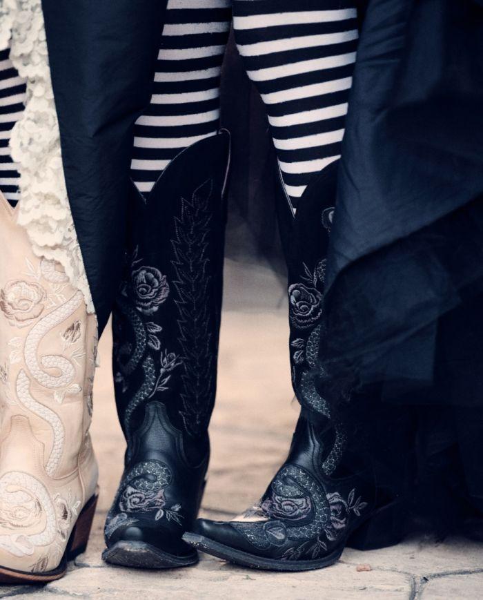 charmer boot - black