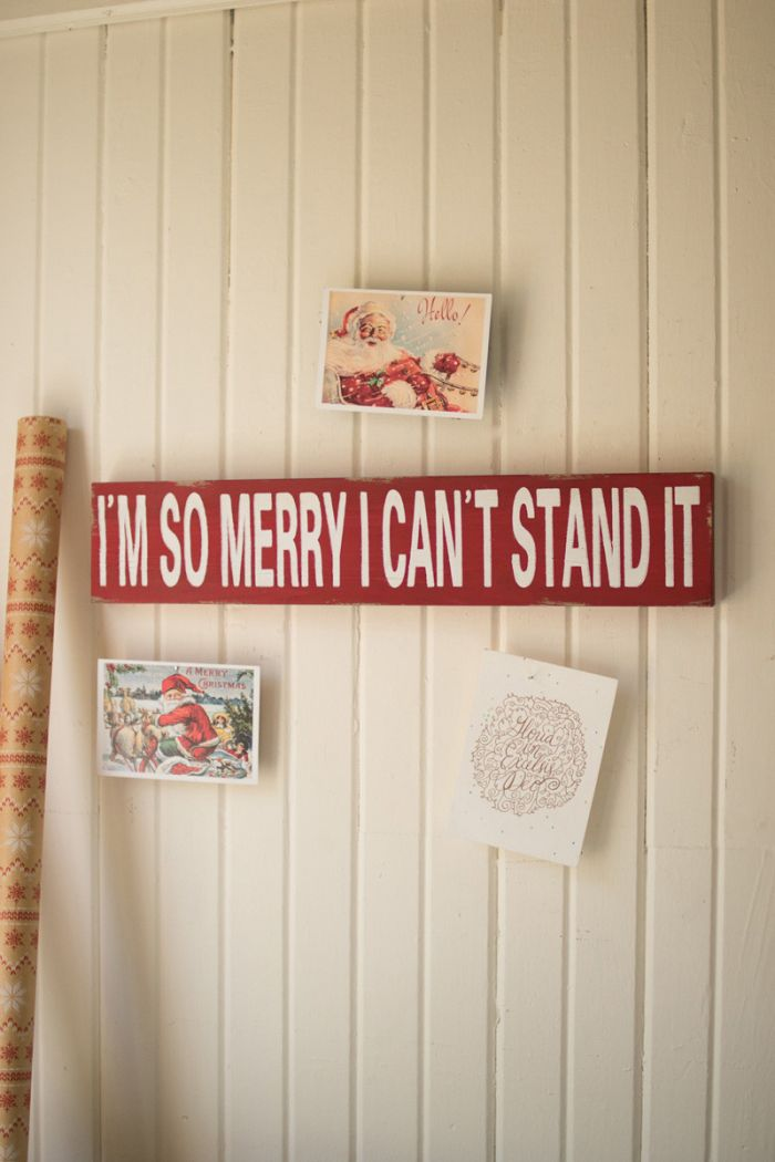 I'm So Merry Sign