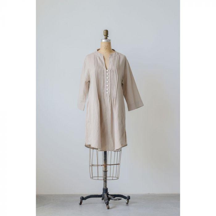 cotton linen harper tunic