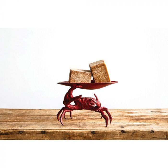 cast iron crab dish
