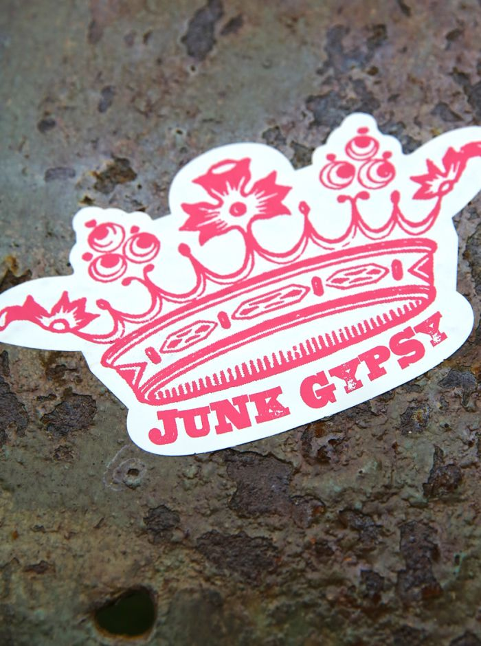 jg crown bumper sticker