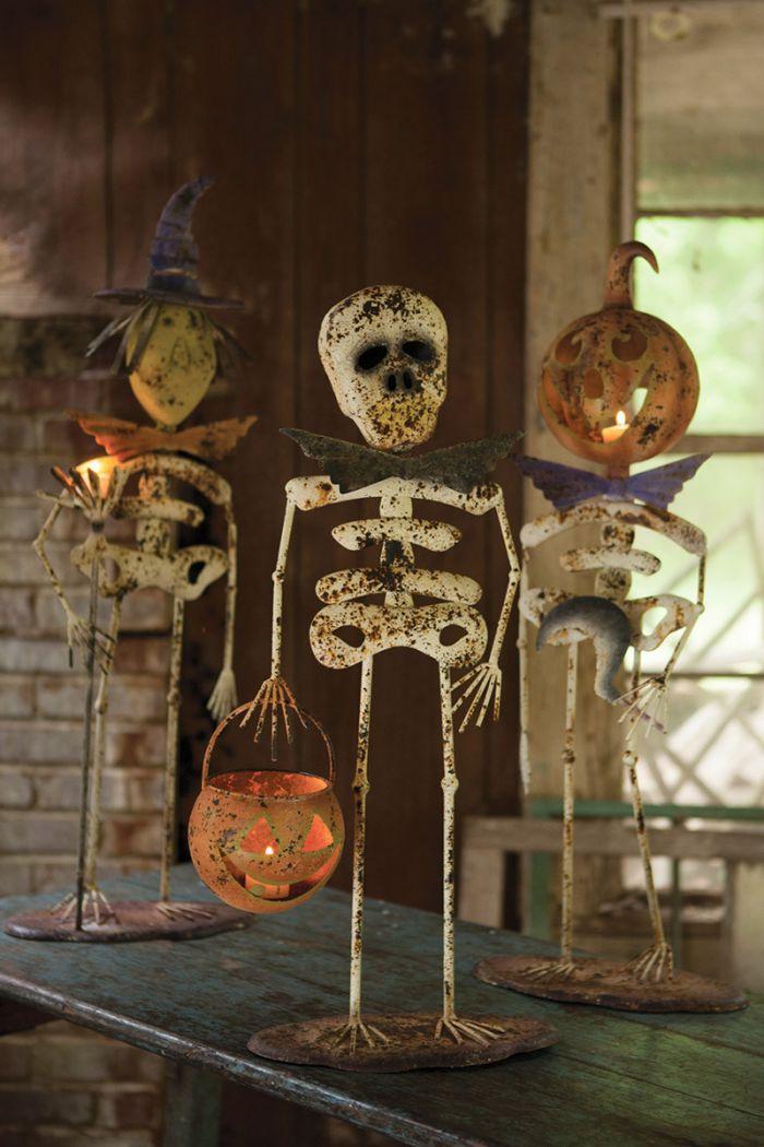 metal halloween creature