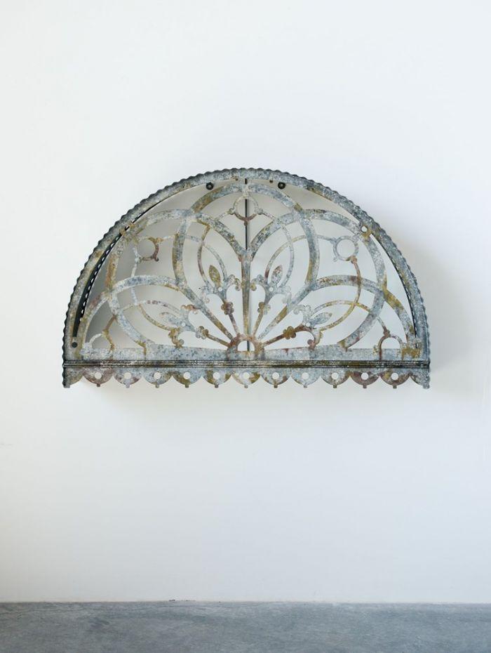 Large Decorative Metal Cutout Canopy Wall Décor