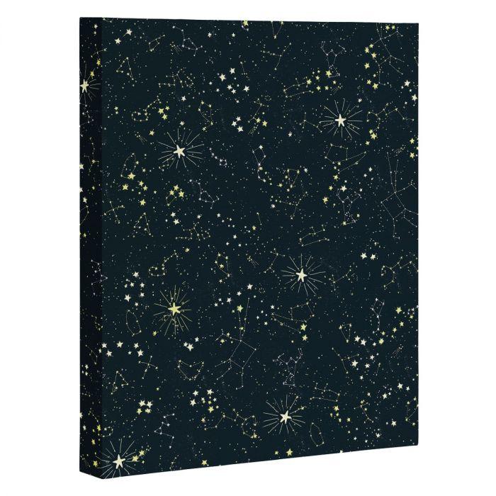 constellations art canvas