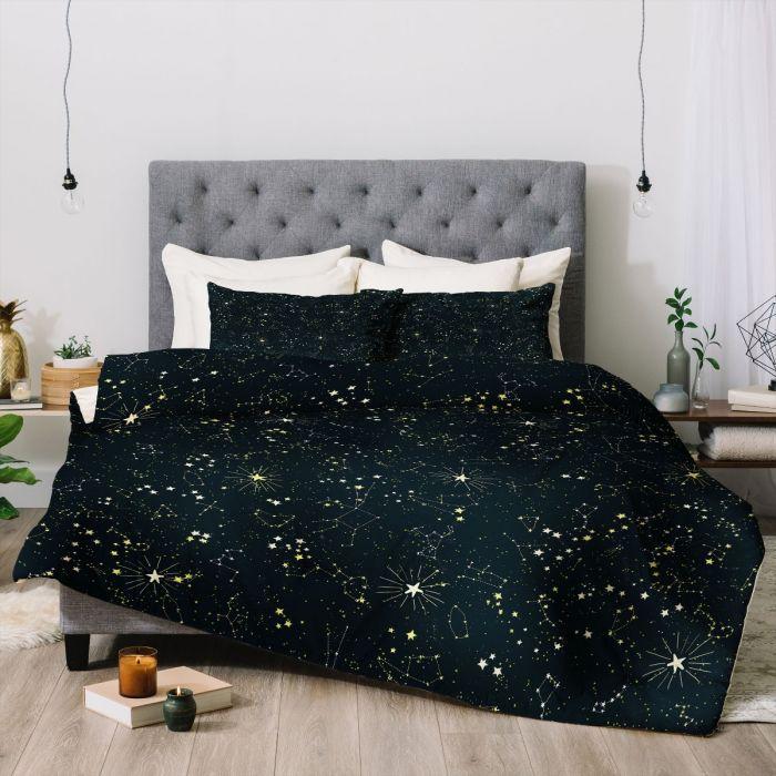 constellations duvet & shams