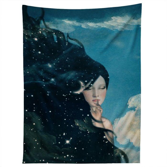 belle time for sleep tapestry