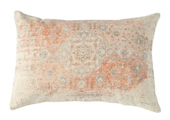 Marrakesh Nights distressed lumbar pillow