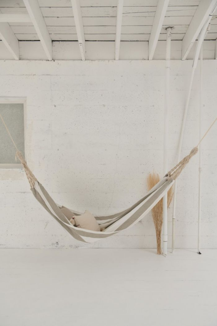 cotton striped hammock