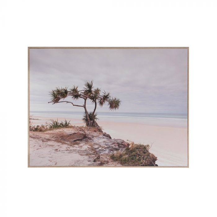seascape framed canvas