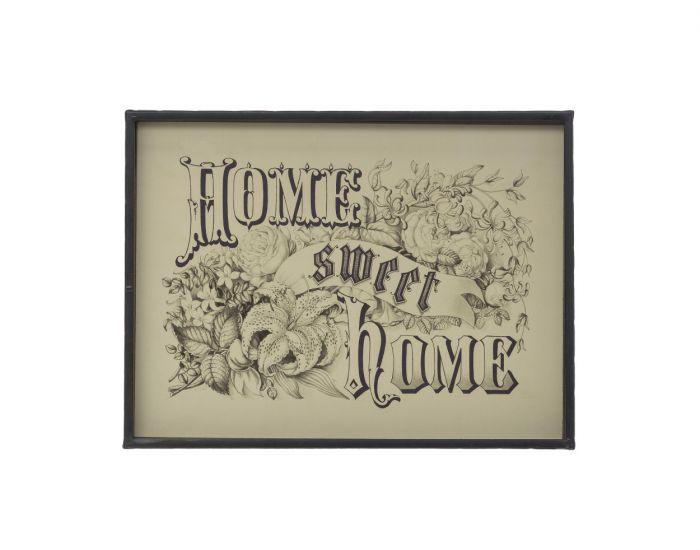 metal framed home sweet home