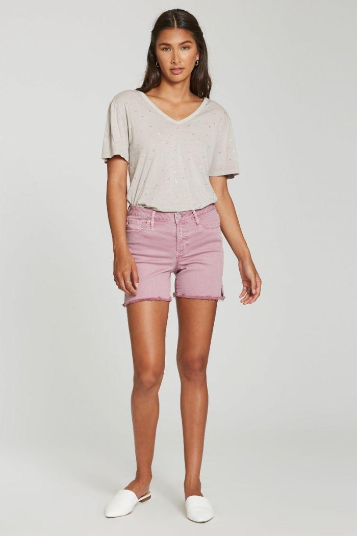 julian highrise denim shorts