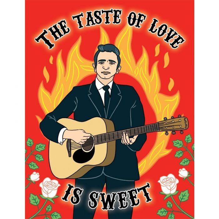 Johnny Cash - The Taste of Love is Sweet Card