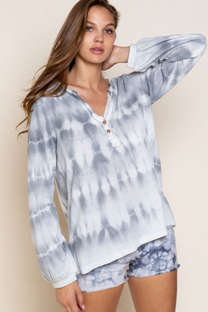 feeling comfy with colors long sleeve top