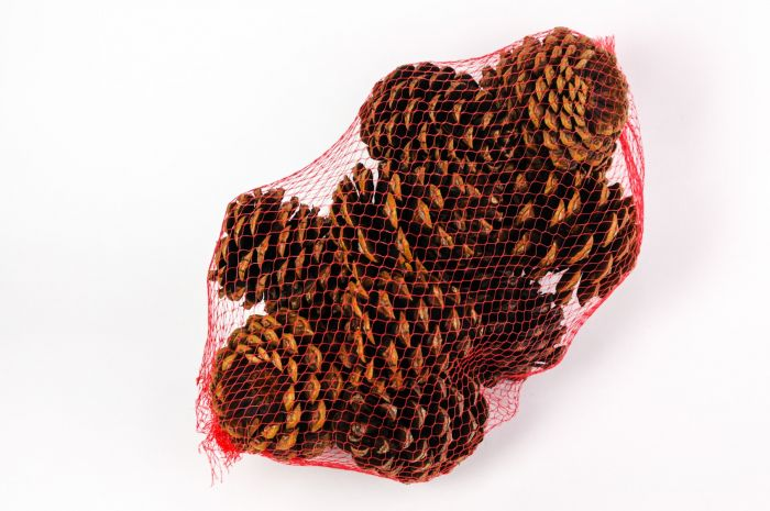 scented pinecone bags
