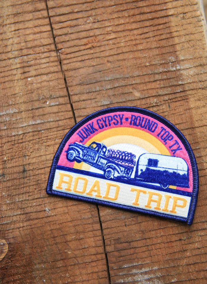 jg road trip patch