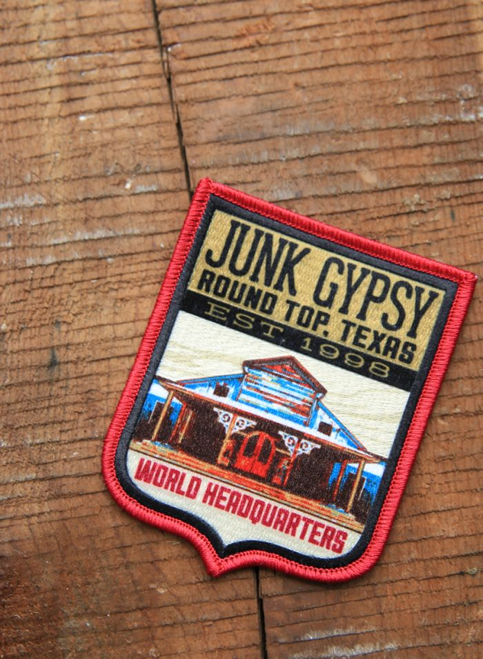 jg world headquarters patch