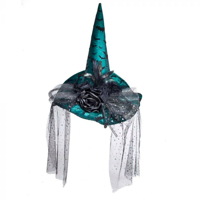 emerald rose witch hat