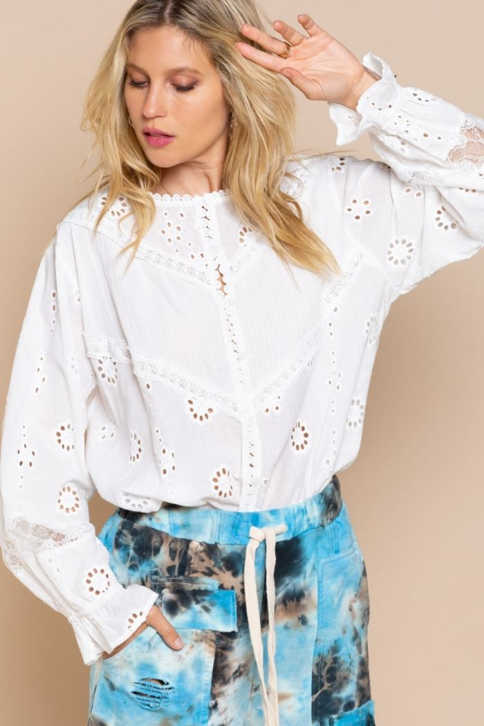 the adeline blouse
