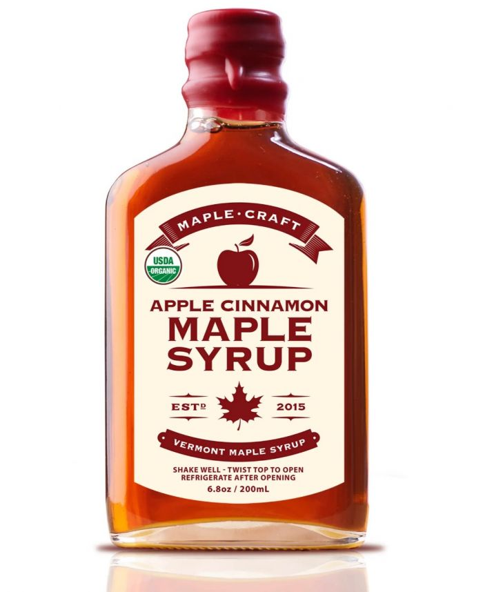 apple cinnamon maple syrup