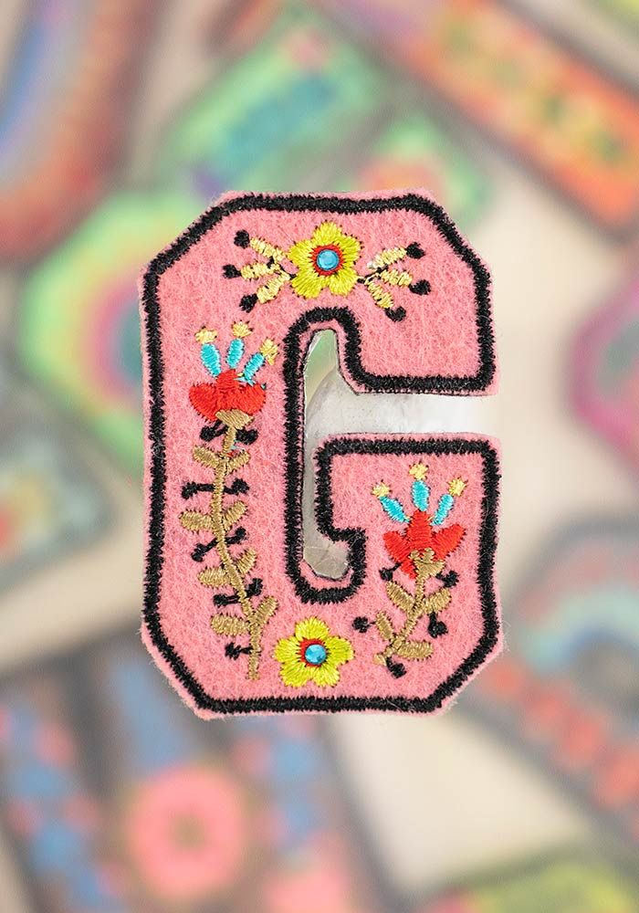 "letter patch ""g"""