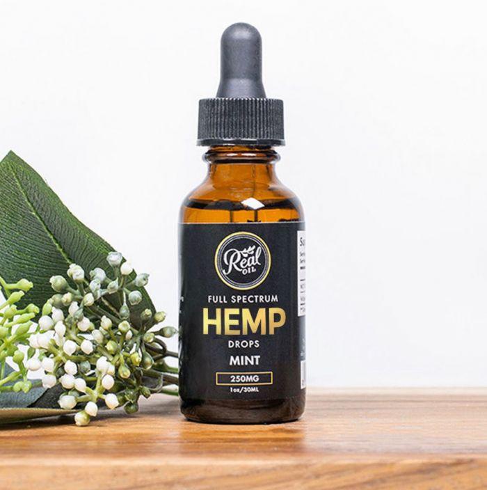 Hemp Drops - Mint - 250 Mg