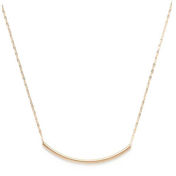 Simple Gold Fill Necklace