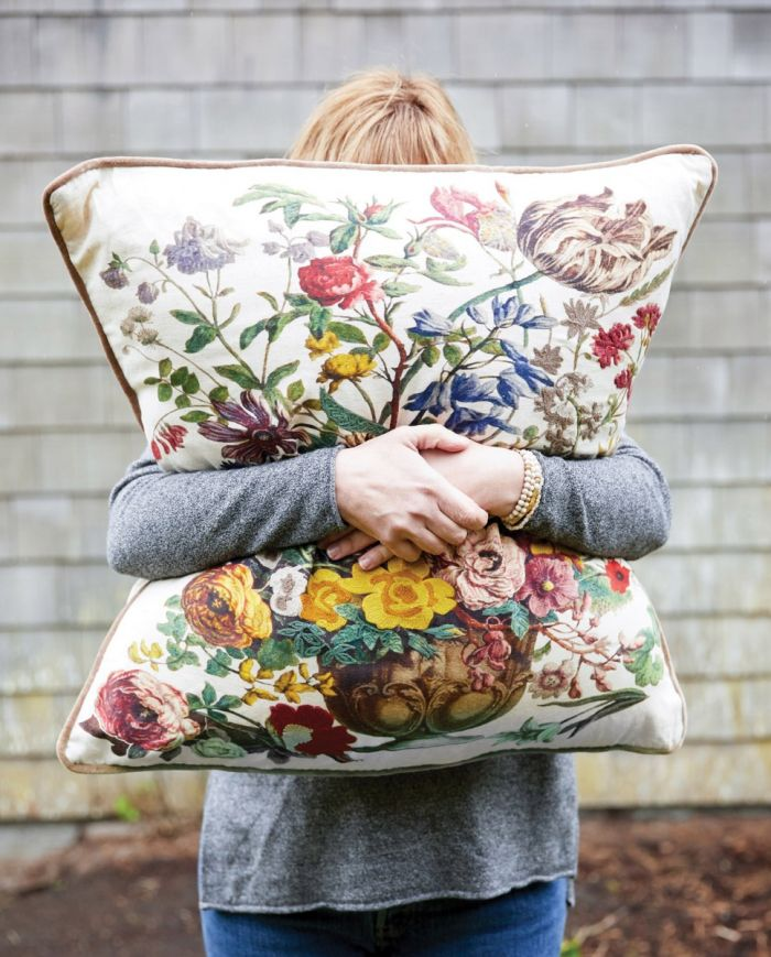 Folklore Floral euro pillow set