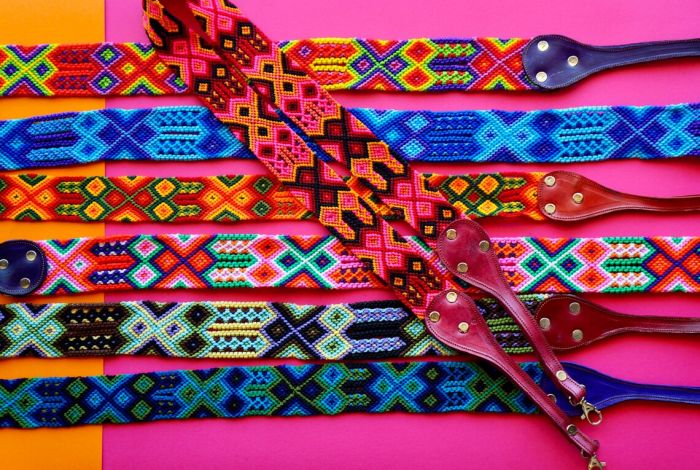 woven purse strap