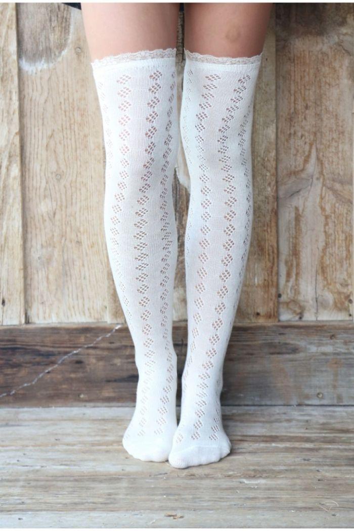 cackling cauldron lace socks