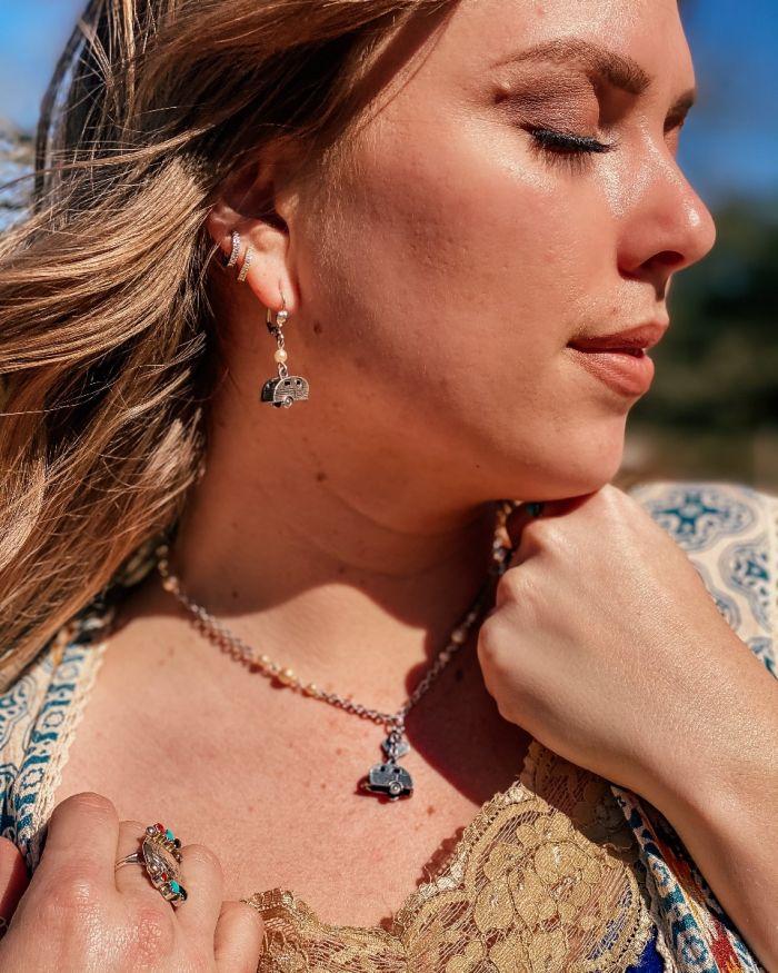 Bohemian Cowgirl Trailer Earrings