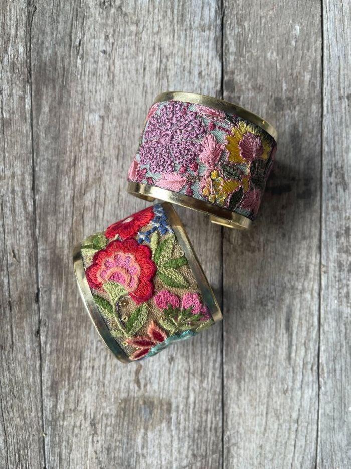 embroidered elegance cuffs