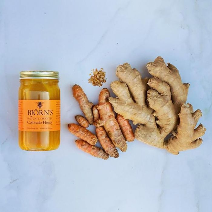 Bjorn's Immunity-Booster Honey With Propolis, Turmeric & Ginger