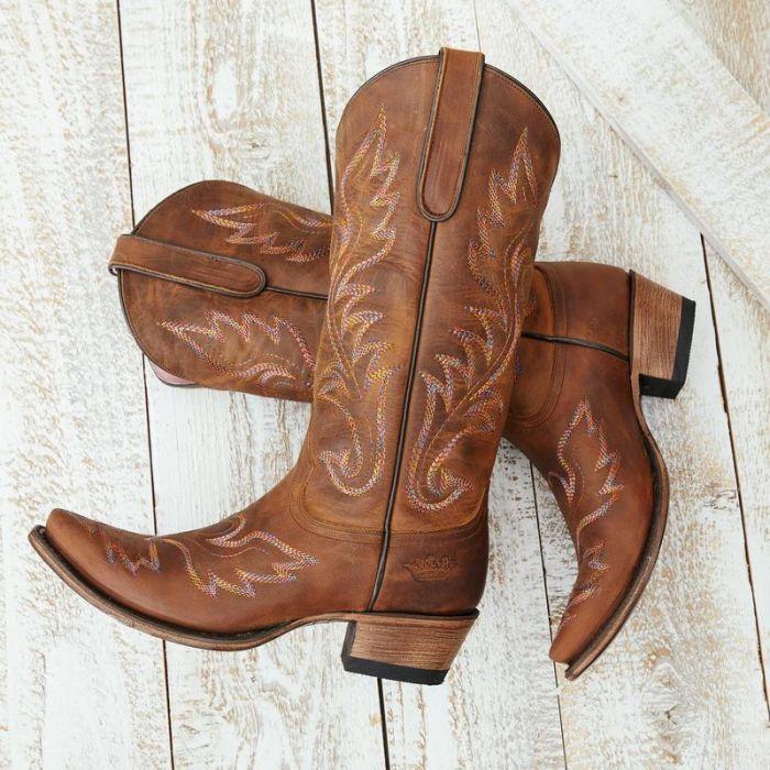 wildheart boot - burnt caramel