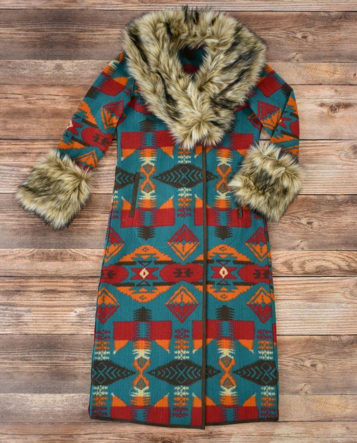 Gem Park City Blanket Coat