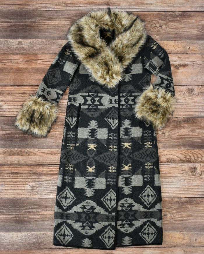 Graphite Park City Blanket Coat
