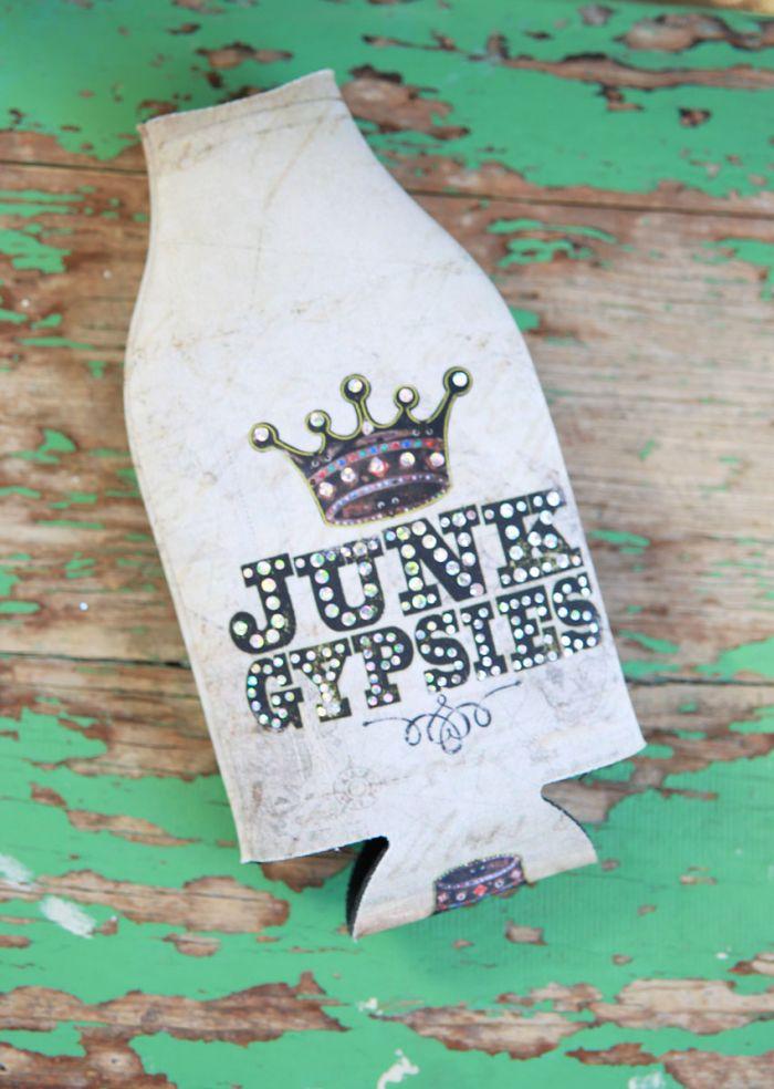 junk gypsies bottle cooler