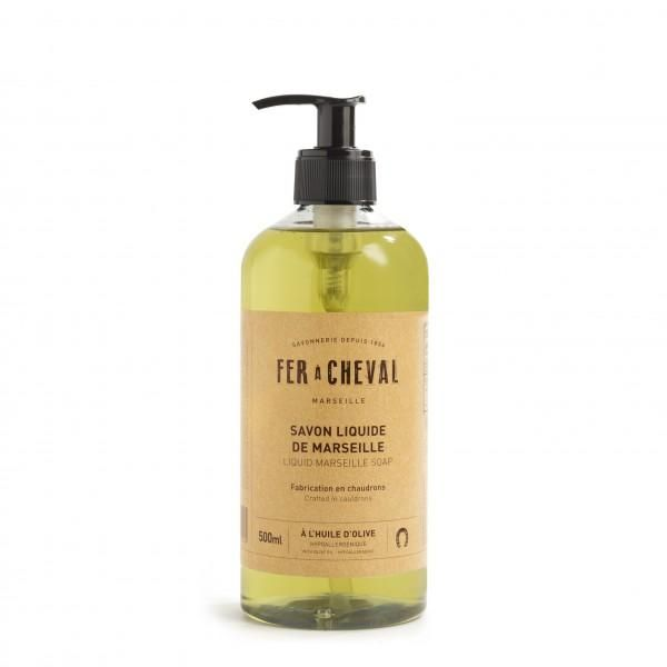 Fer à Cheval Genuine Marseille Liquid Soap Olive Oil - 500ml