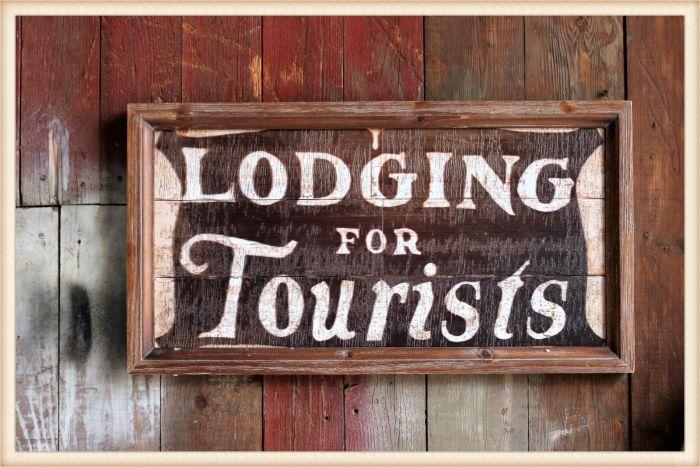 lodging sign