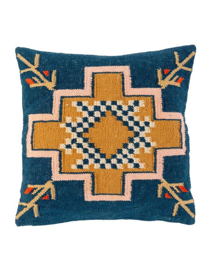 desert nights handwoven pillow - 24 X 24