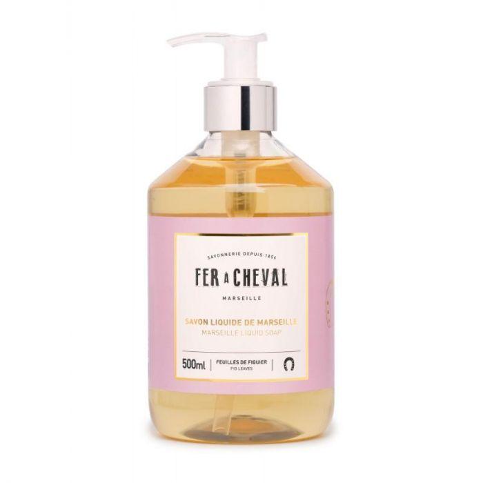 Fer à Cheval Marseille Liquid Soap Fig Leaves - 500ml