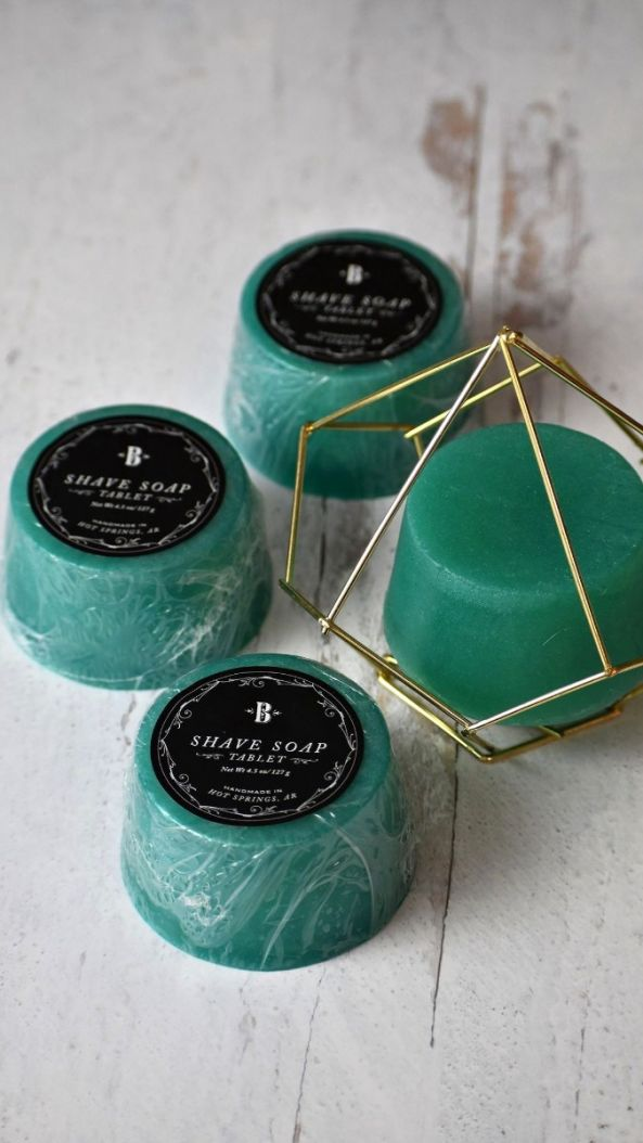 Mint & Eucalyptus Shave Soap