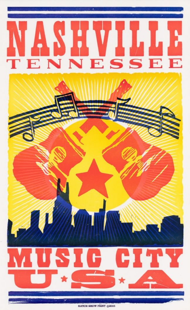 hatch showprint music city usa poster